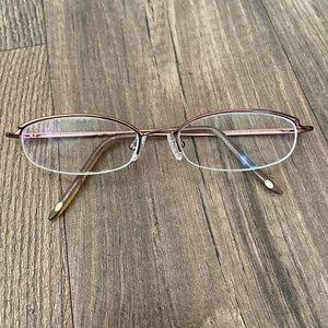 NINE WEST 0SU9 337 Rose Burgundy Glasses Frame